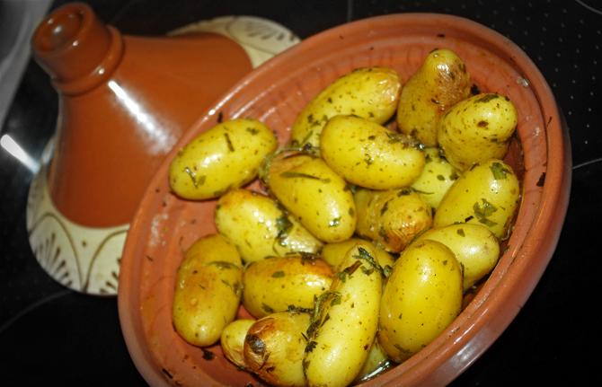 Rosmarin-Kartoffeln aus der Tajine