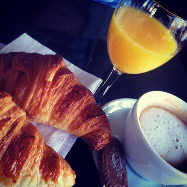 Paris Frühstück