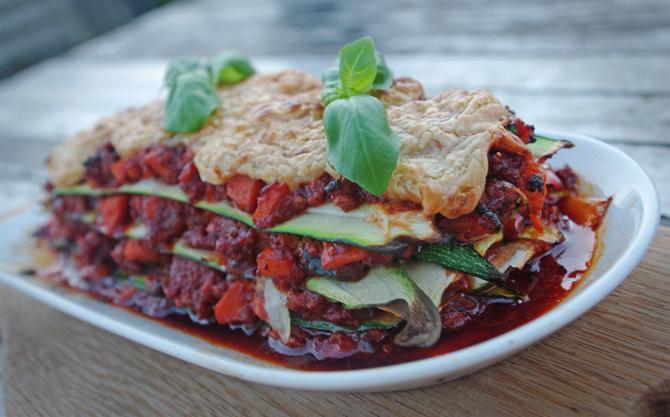 Vegan for Fit: Vegane Lasagne