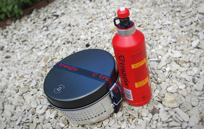 Trangia + Trangia Brennstoff-Flasche