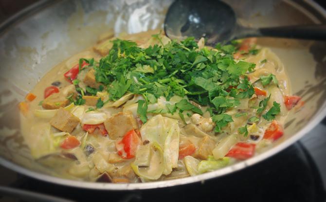 Vegetarisches Gemüsecurry