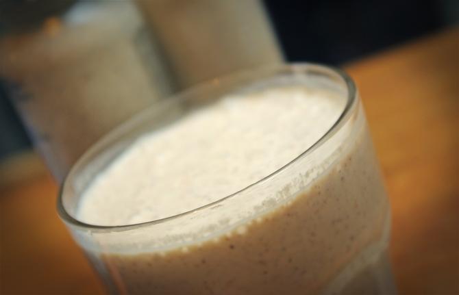 Proteinhaltiger Shake